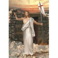 Postkaart - Verrezen Kristus