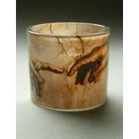Glas Theelicht 6 Cm - Michelangelo Hands