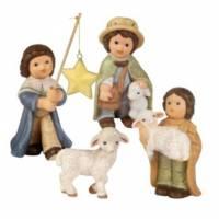 Kerstgroep 8 Cm Nina Marco 3 Herders Schaapje