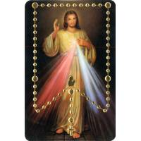 Prentje PVC - Les Mystères du Rosaire / Barmh Kristus