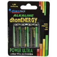 Blister 4 Batteries AA