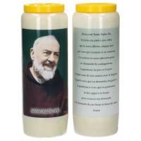 Neuvaine / blanc / St P Pio / prière