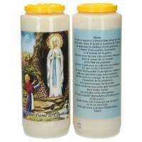 Neuvaine / blanc / apparition Lourdes / prière
