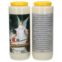 Neuvaine / blanc / ange gardien / prière