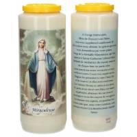 Neuvaine / blanc / Miraculeuse / prière