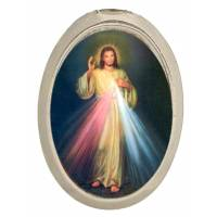 Méd. Aimantée - Christ Miséricordieux