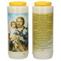 Neuvaine / blanc / St Joseph / prière