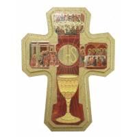 Croix Byzantine 13.5 X 10 Cm