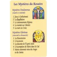Image PVC - Les Mystères du Rosaire - FR