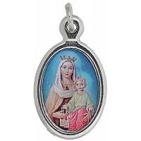 Médaille 25 mm Ov - Vierge du Carmel