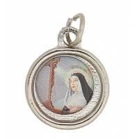 Médaille - Ste Rita - Métal Agté