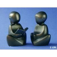 Duo de 2 statues - 7 cm - Filles