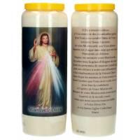 Neuvaine / blanc / Christ Miséricordieux / prière