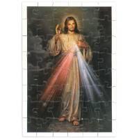 Puzzle 48 pces - Christ Miséric. 15 X 10 cm