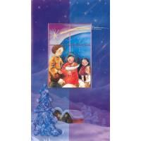 Carte Double - Noël + Enveloppe