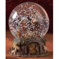 Boule de neige - Nativité - Diam 10 cm