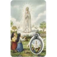 Carte-Méd-Prière - Appar. Fatima - FR