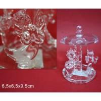 Caroussel Cristal - 6.5 X 5 X 9.5 cm