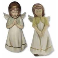 Ange 15 cm - porcelaine - 2 / set