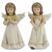 Ange 24 cm - porcelaine - 2 / set