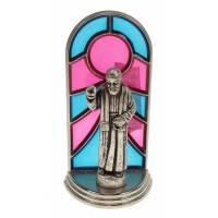 Cadre-Vitrail - St P Pio