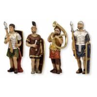 4 Fig Statues De La Passion Les Soldats