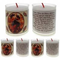 Set de 4 bougies - Marie qui défait les noeuds - texte 5 langues