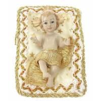 Enfant-Jésus 8.5 cm S/coussin - Crême 10 X 8 cm