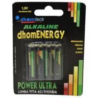 Blister - 4 Batteries AAA