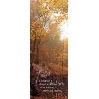 Signet 15 X 5.5 Cm Photos Nature + Verset Biblique
