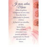 Carte Double + Env - Je Vous salue Marie