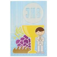 Carte Double Communion - 10X15cm + Enveloppe