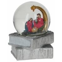 Boule de neige - Nativité - D 6.5 cm - 9 X 9 X H 9.5 cm