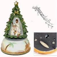 Boîte à musique - Nativité - 10 x 17 cm