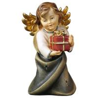 Ange Avec Cadeau 6 Cm Couleur