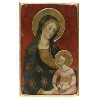 Icone De La Vierge Des Anges