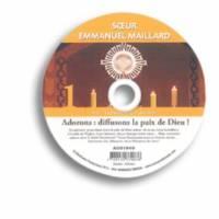 Adorons : diffusons la paix - cd - pf