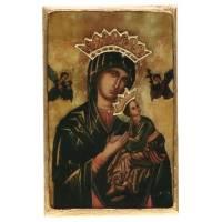 Icone De La Vierge Du Perpetuel Secours