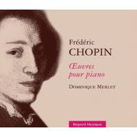 CD - Frédéric Chopin - Oeuvres pour piano - 3 CD