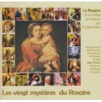 Les vingt mysteres du rosaire
