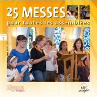 CD - 25 messes pour toutes les assemblées vol 1