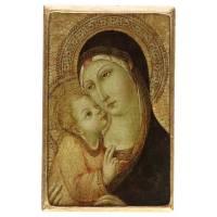 Icone De La Vierge Pietro Di Mencio