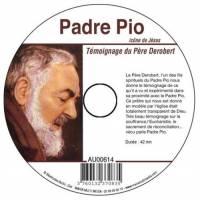 CD - Padre Pio - Icône de Jésus