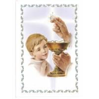 Carte Double - Communion + Enveloppe