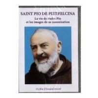 DVD - Saint Pio de Pietrelcina - La vie de Padre Pio et les images de sa canonisation