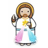 Plaque Magnetique Christ Misericordieux