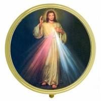 Boîte à Pilules - Christ Miséricordieux - Diam 6 cm